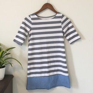 Casual Striped Dress Girls Size 10/12